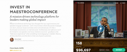 Check out MaestroConference's Equity Crowdfunding campaign