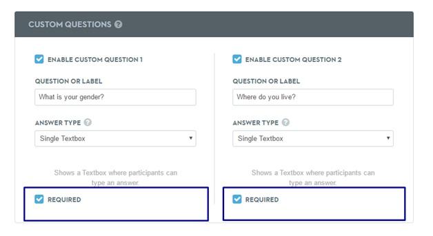 Webinar Success Tips - custom registration fields