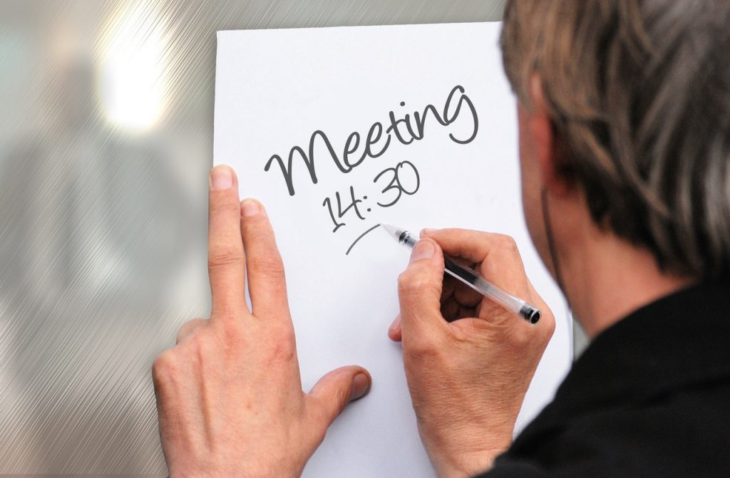 Productivity Tool for Scheduling Meeting