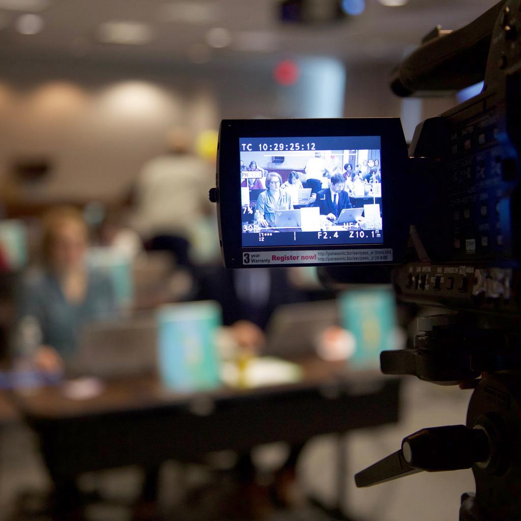 live video for webinars