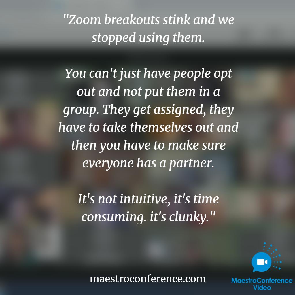 zoom breakout limitations