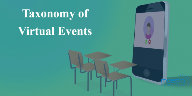 taxonomy of virtual event formats